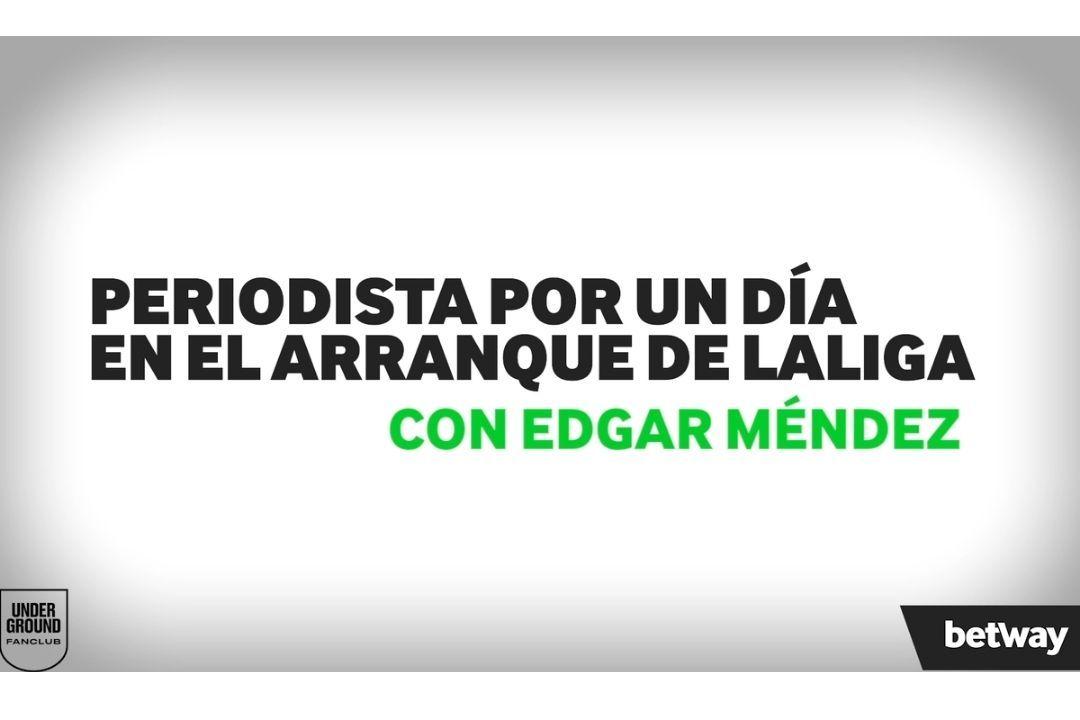 Edgar Mendez periodistas por un dia