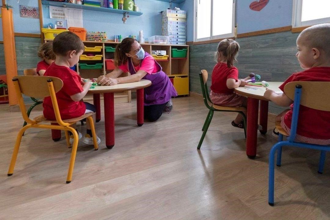 niños educacion infantil cero a tres covid19 vuelta al cole