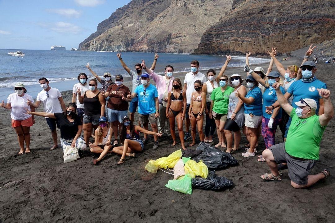 Dia mundial de las playas playa de antequera limpieza