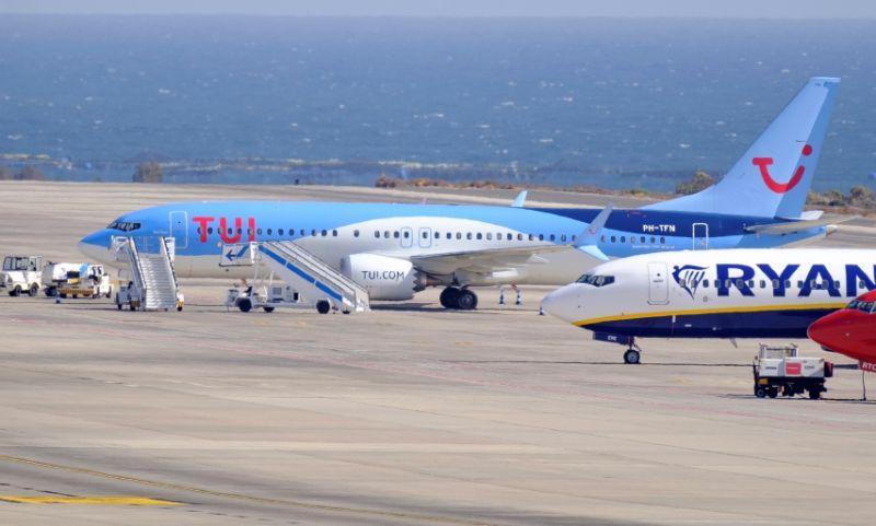 Siete Boeing 737 Max 8 pernoctan en Gran Canaria y Tenerife Sur tras cerrarse el espacio aéreo de la UE a ese modelo