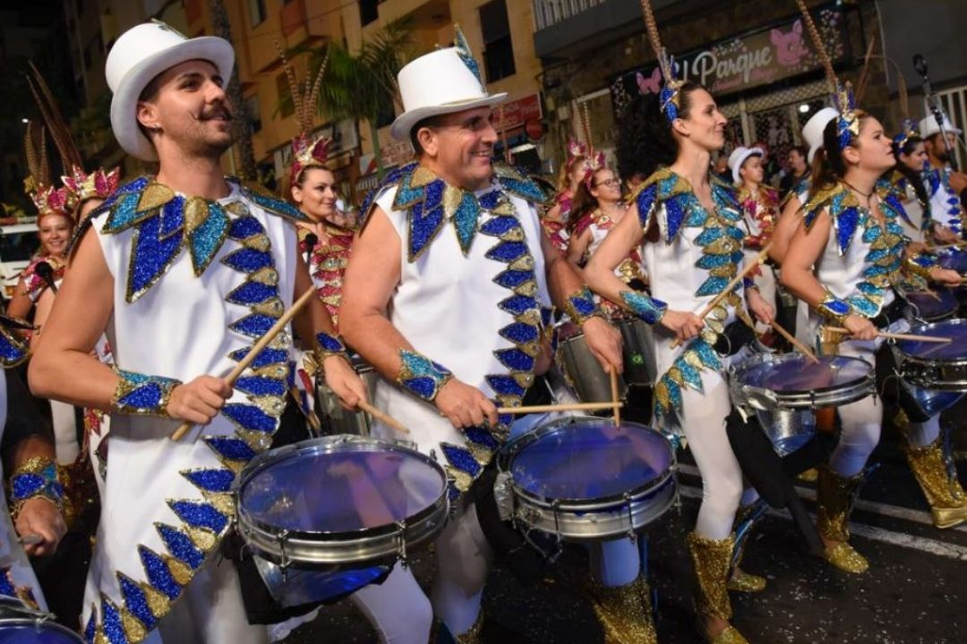 El carnaval se vive