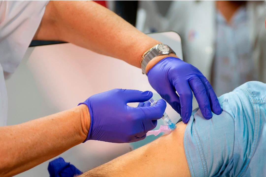 vacunación con Astrazéneca