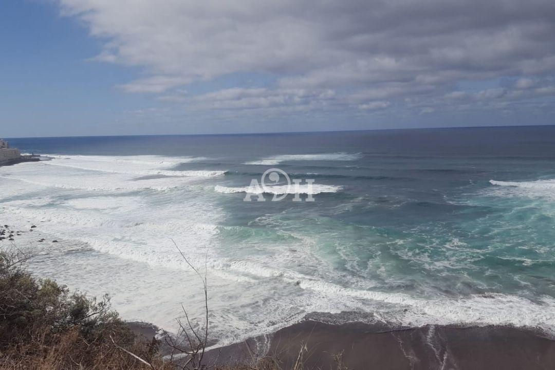 olas viento nubes corrientes mar playa del arenal punta del hidalgo
