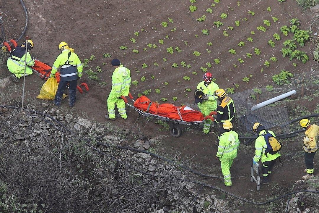 rescate cuerpos barranco