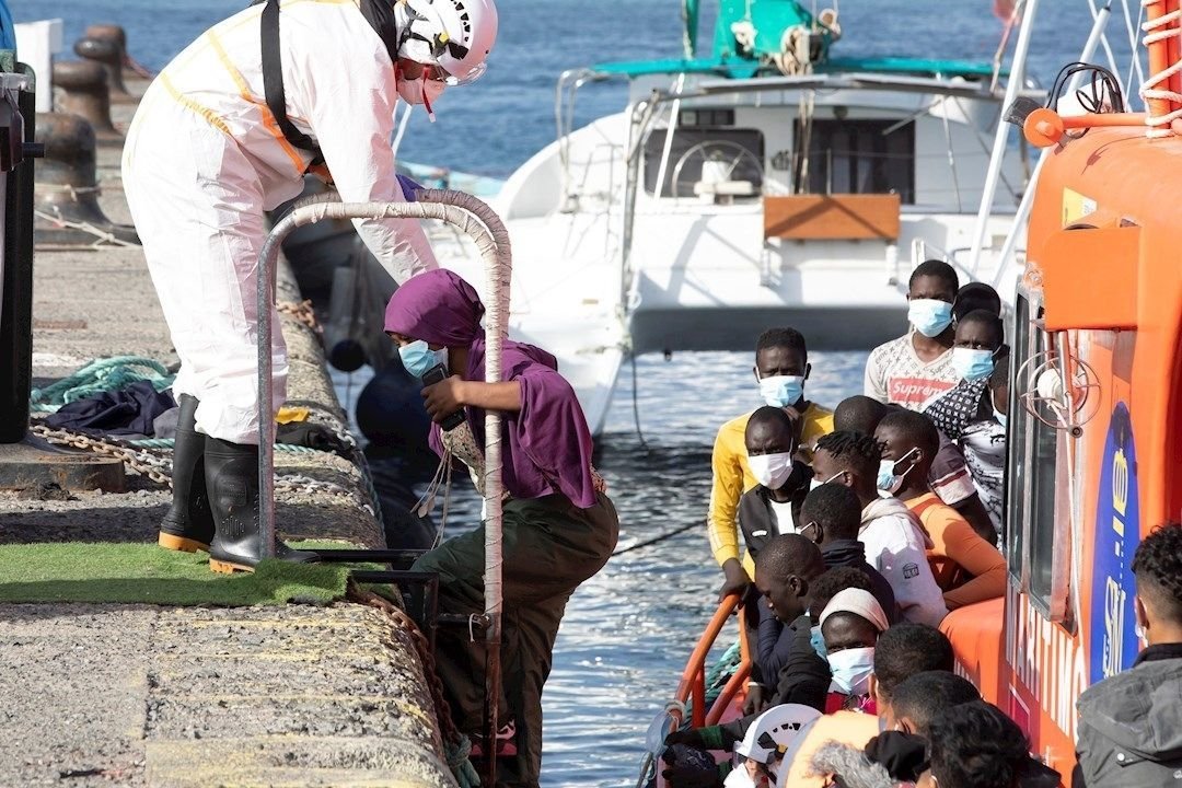 rescate inmigracion arguineguin