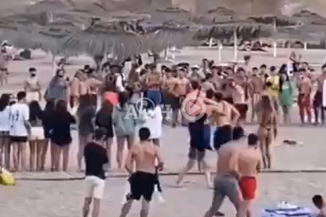 pelea boxeo playa