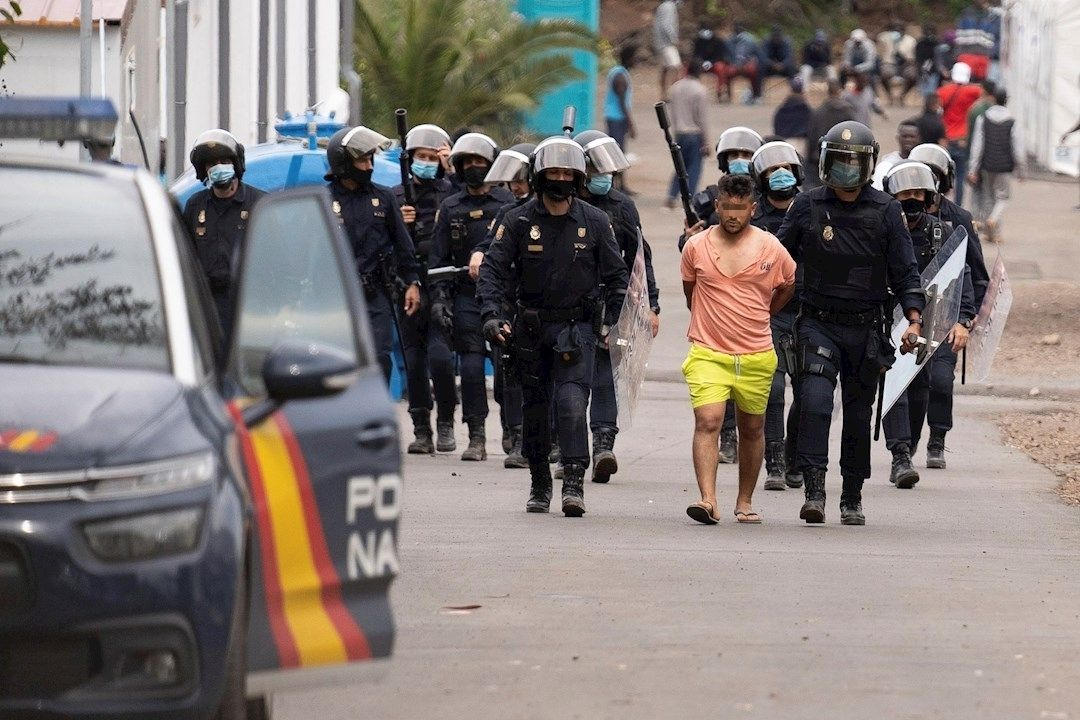detenido en Las Raices