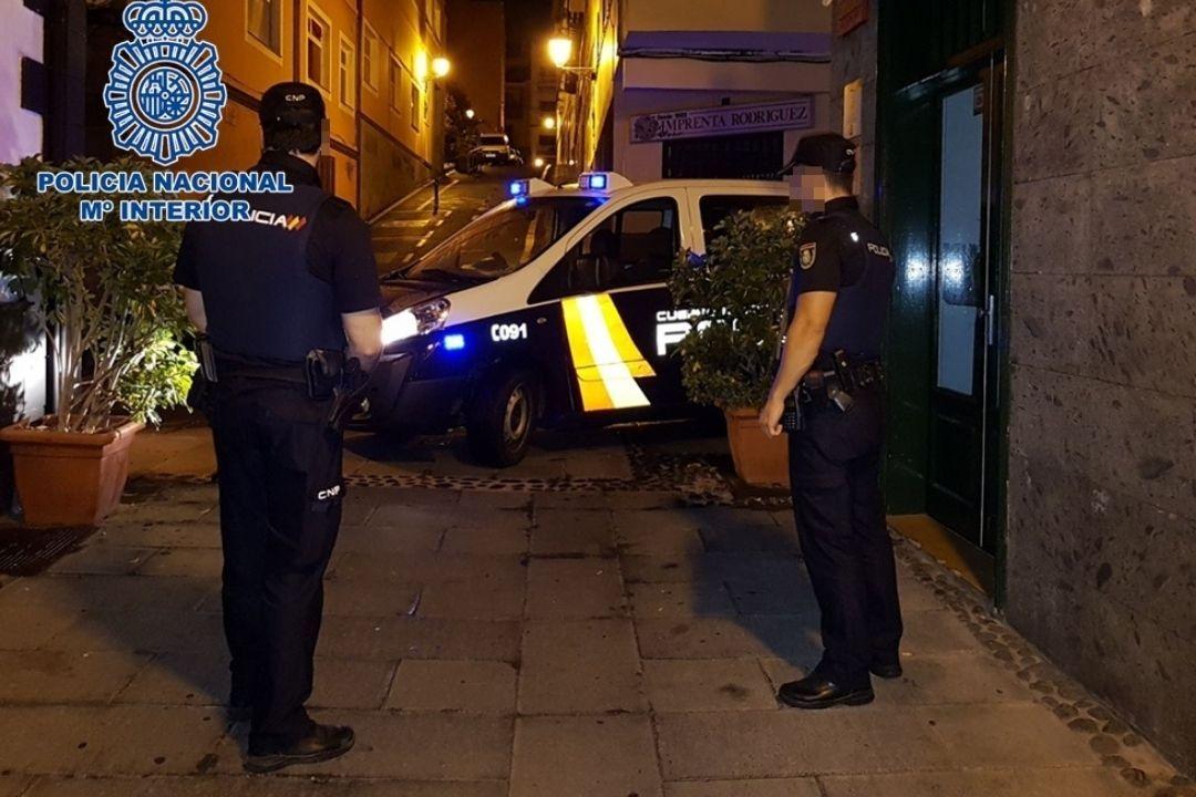 Intervencion de la policia