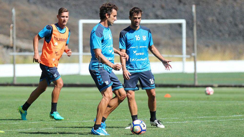 Germán, Jorge, Aitor, CD Tenerife