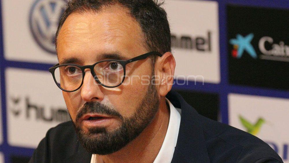 """Bordalás: """"El CD Tenerife no acusará el cansancio, nosotros somos los que viajamos"""""""