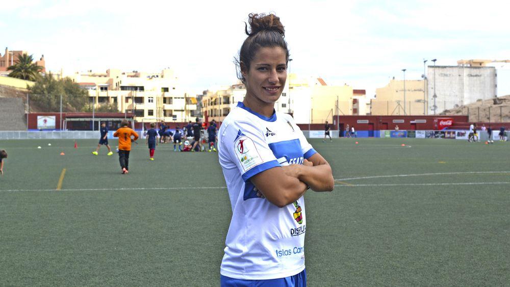 """Laura Díaz: """"El equipo está bien, seguimos en puestos de Copa de la Reina"""""""