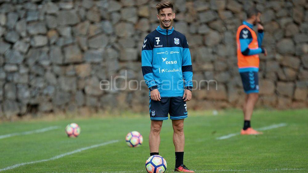 Omar Perdomo, CD Tenerife, Liga 123