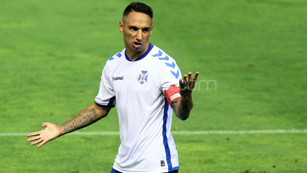 Suso Santana, capitán CD Tenerife