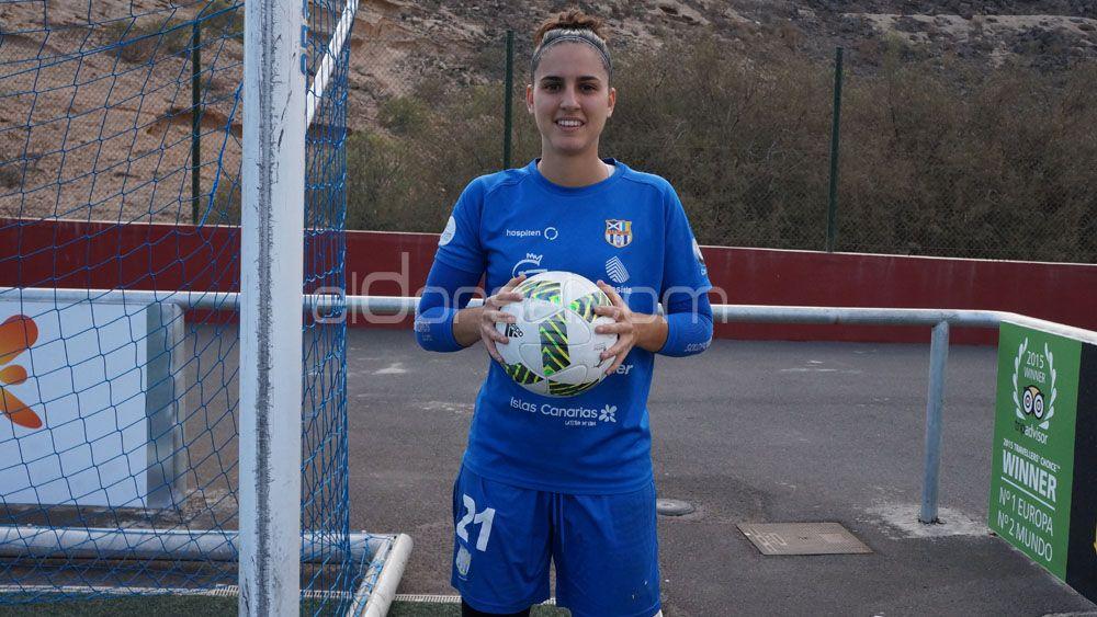 Noelia Gil continuará en las filas de la UDG Tenerife