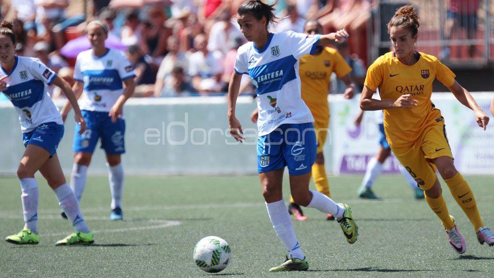 Luana Spindler, goles a ritmo de samba para la UDG Tenerife