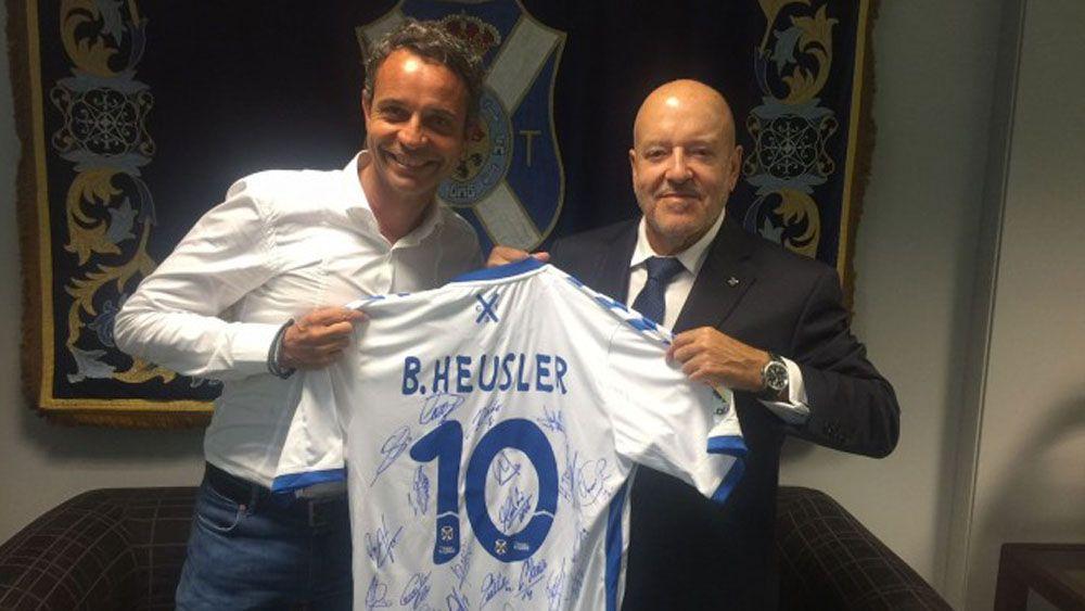 Encuentro institucional entre CD Tenerife y FC Basilea