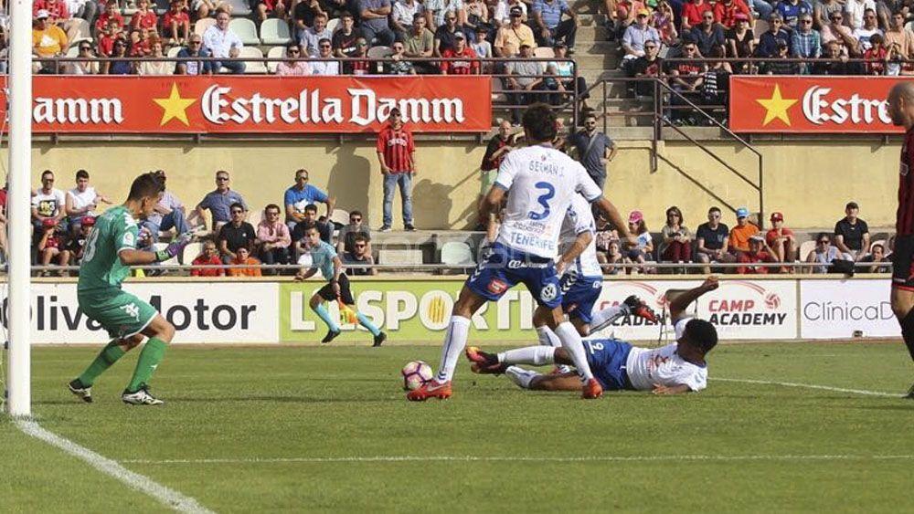 Nuevo empate, nueva caída del CD Tenerife en la tabla