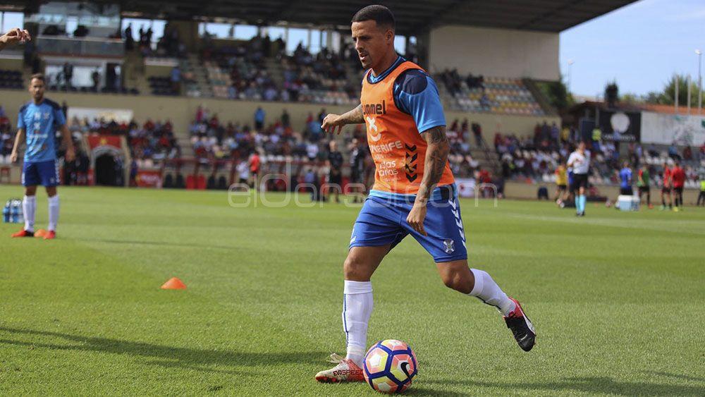 Vitolo, elegido MVP por la afición del CD Tenerife