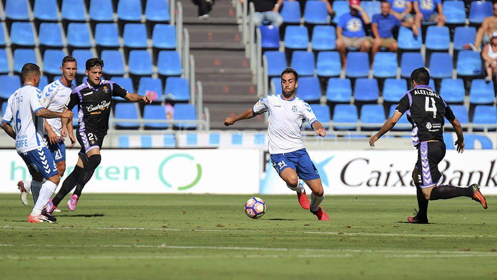 CD Tenerife, Real Valladolid, Liga 123