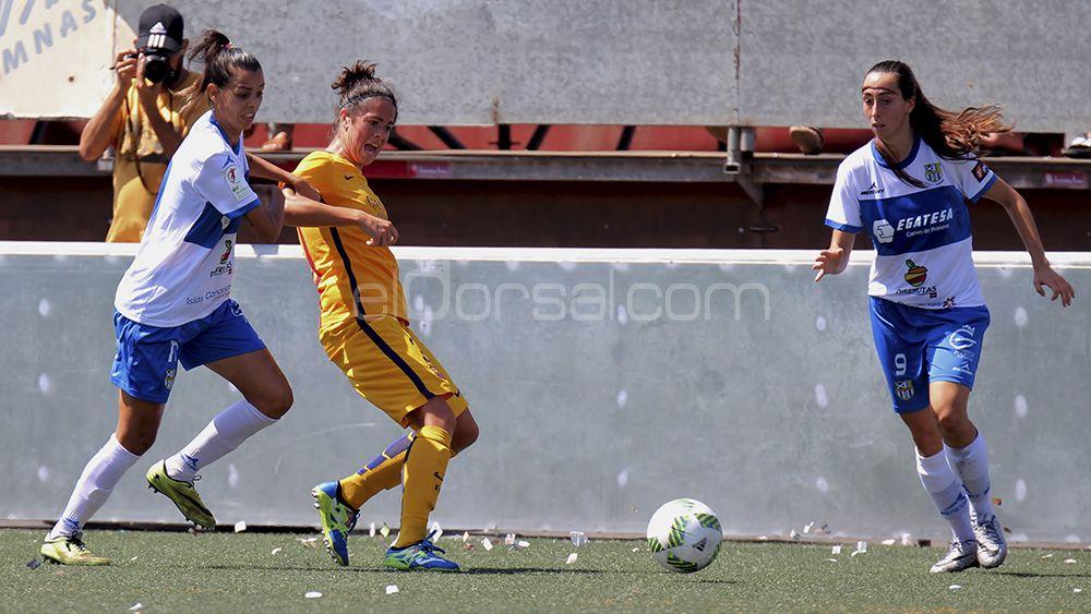 UDG Tenerife, FC Barcelona, Liga Iberdrola