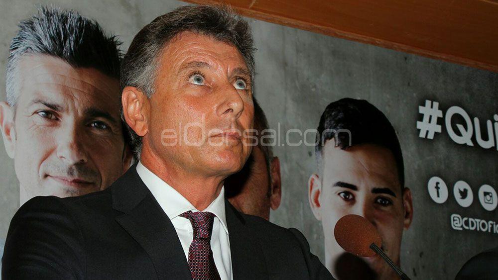 "Pérez Borrego: ""Se planteó un premio si el Tenerife pasaba de ronda"""
