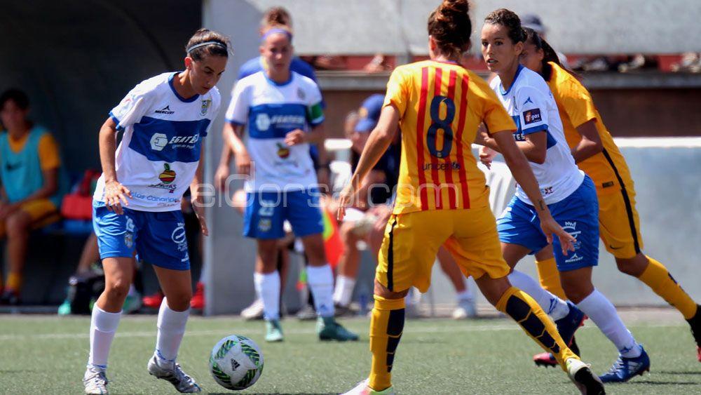"""Virgy García: """"¿Por qué no ganar una Copa de la Reina con la UDG Tenerife? Soñar es gratis"""""""