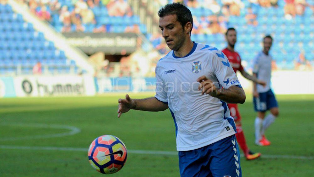 Iñaki podría volver a tener minutos con el CD Tenerife en el Heliodoro