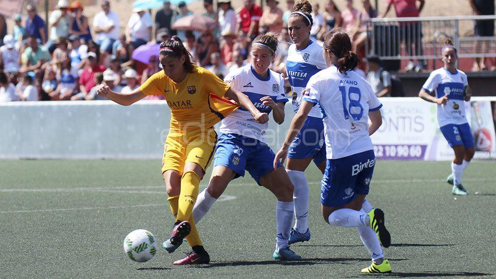 La UDG Tenerife afronta un partido vital ante el Sporting de Huelva