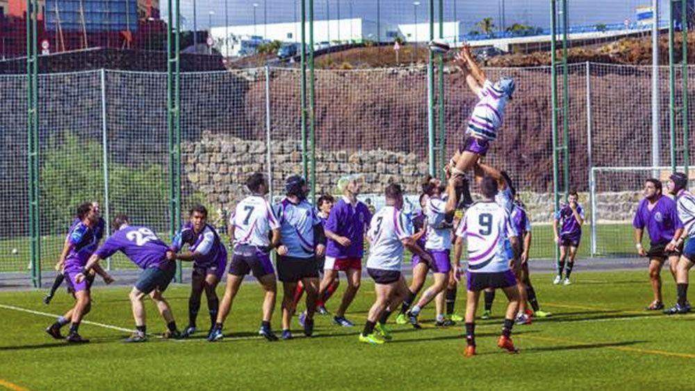 La Laguna acoge la última jornada del año de rugby 7