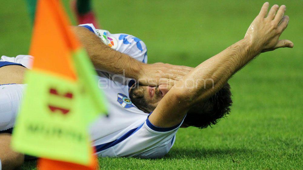 Carlos Ruiz enciende las alarmas de la defensa del CD Tenerife