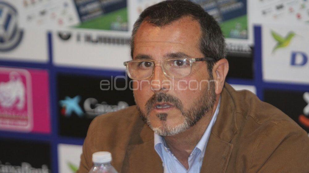 """Sesé Rivero: """"Estamos muy contentos por cómo le ha ido a la base del CD Tenerife este año"""""""