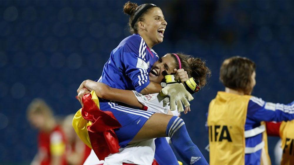 Noelia y Natalia Ramos, protagonistas en la victoria que mete a 'La Rojita' en la Eurocopa sub-19