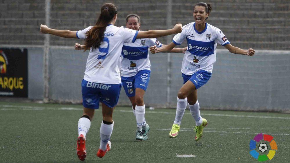 Luana Spindler, la mejor jugadora de la Liga Iberdrola en la jornada siete