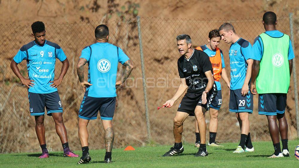 Martí, entrenamiento CD Tenerife