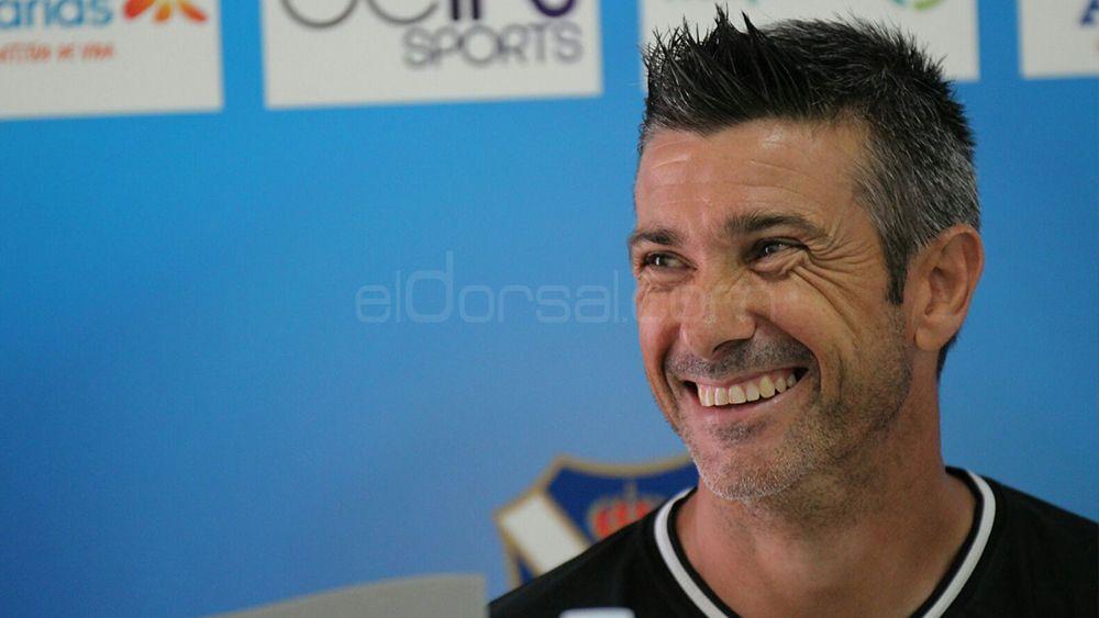 """Martí: """"Suso es el emblema del CD Tenerife y un jugador tremendamente importante"""""""