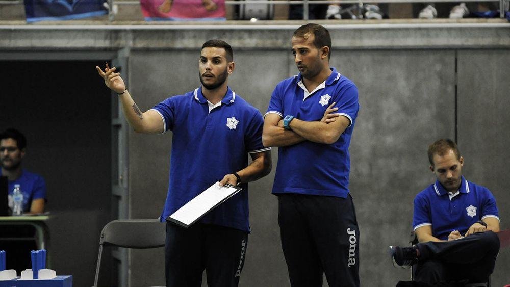 Entrenador CV Haris, voleibol