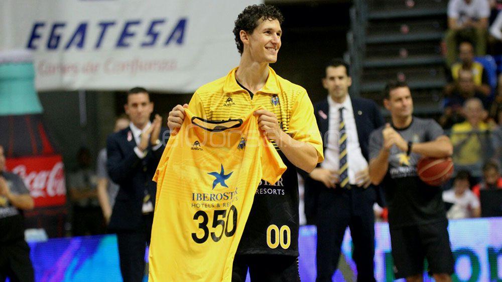 Rodrigo San Miguel, 350 partidos en ACB