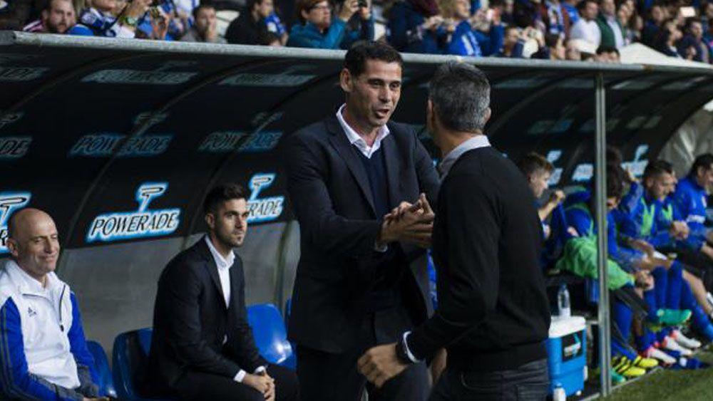 """Hierro: """"El CD Tenerife nos ha apretado, pero logramos madurar el partido hasta ganarlo"""""""