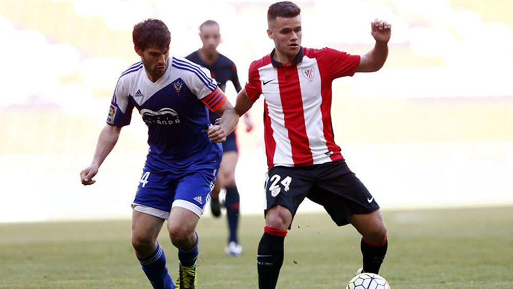 Ager Aketxe tampoco será el mediapunta del CD Tenerife