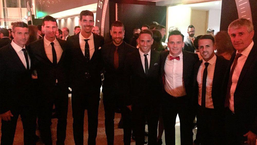 CD Tenerife y UD Las Palmas, juntos en la Gala de los Premios LaLiga