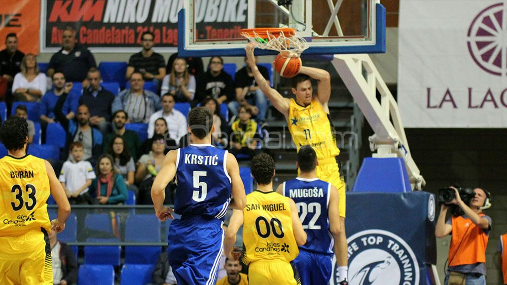 Así vivimos la segunda victoria del Iberostar Tenerife en la Basketball Champions League