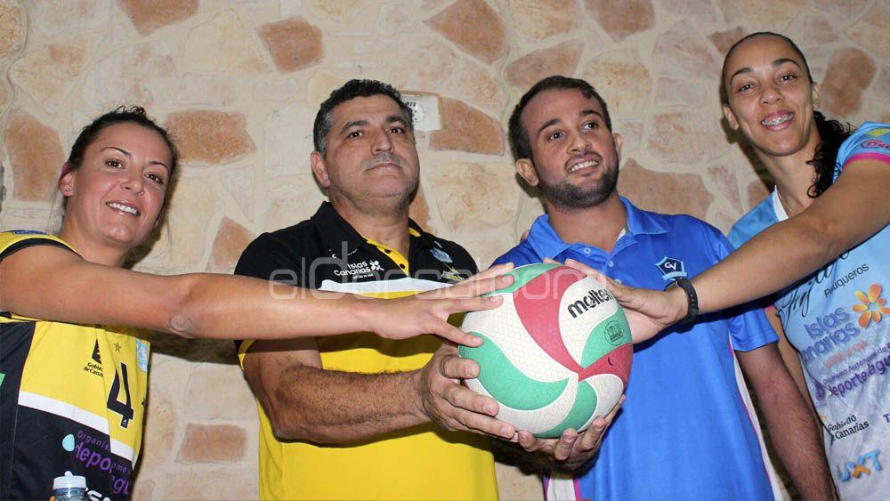 Aguere y Haris, preparados para la fiesta del voleibol tinerfeño