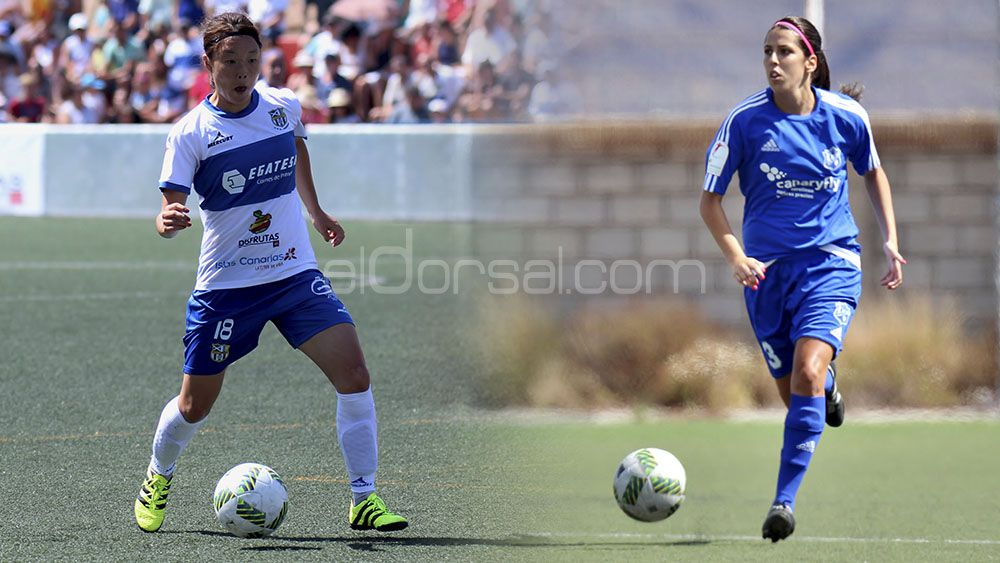 El Clásico del fútbol femenino tinerfeño, entre UD Tacuense y UDG Tenerife, hace historia