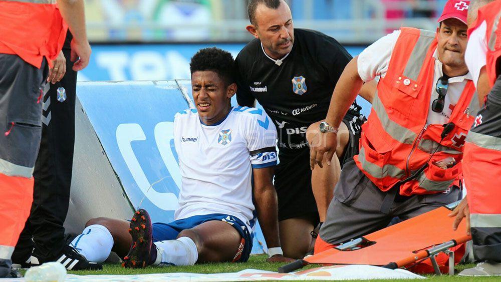 El CD Tenerife no podrá contar con Choco Lozano hasta 2017