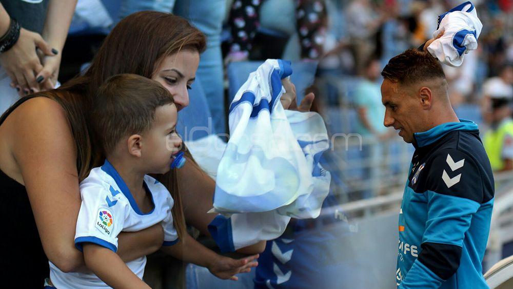Suso Santana, CD Tenerife, Liga 123