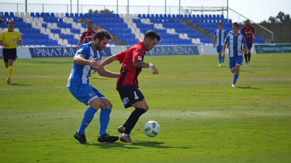 Jornada gris para los cedidos del CD Tenerife en Segunda B