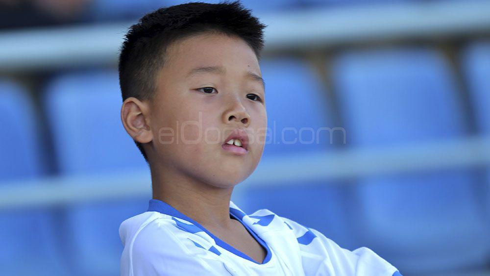 Yu Hao, el pequeño gran aficionado del CD Tenerife