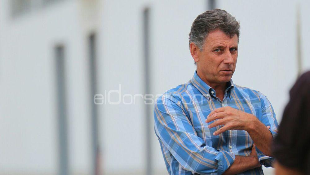 """Pérez Borrego: """"Estamos en condiciones de incorporar jugadores que requieran mayor inversión"""""""