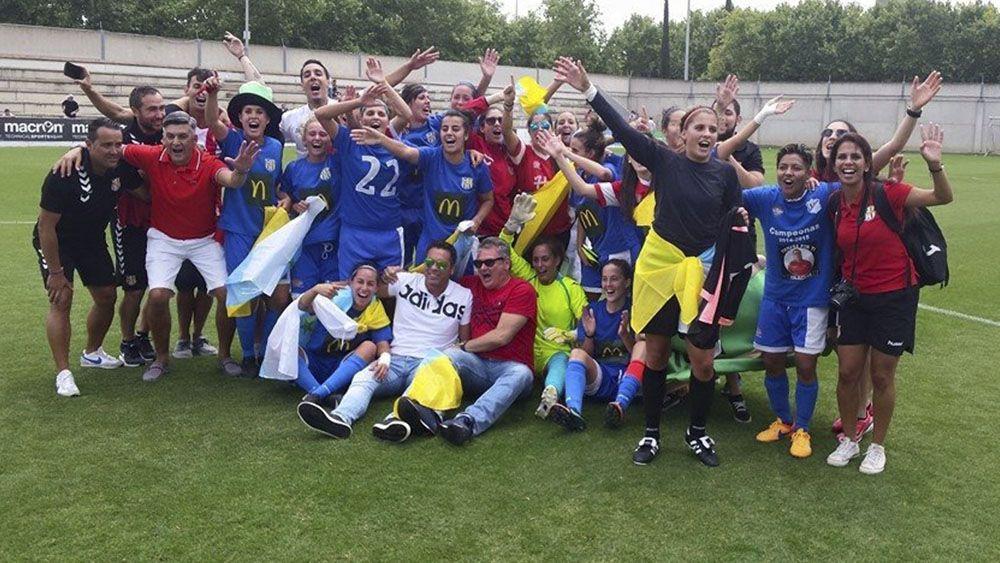 Se cumplen dos años del ascenso de la UDG Tenerife a la Liga Iberdrola