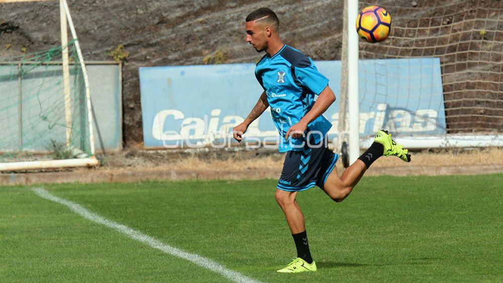 Giovanni Rodríguez, trabajo duro para conseguir su primera oportunidad en el CD Tenerife